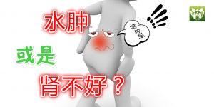 水肿或是肾不好 ? 6大肾脏发出的求救信号
