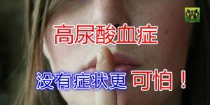 高尿酸血症 没有痛风症状更可怕!!