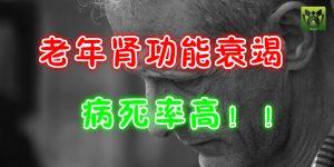 老年肾功能衰竭